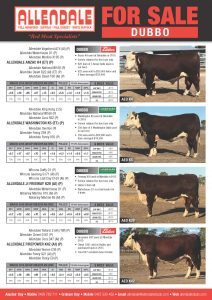For Sale at Dubbo & Wodonga 2016