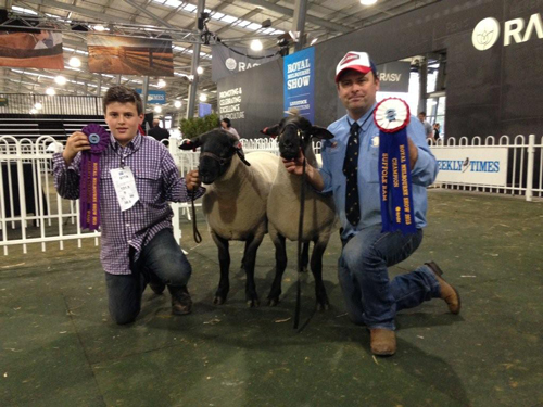 gus-with-reserve-champion-suffolk-ram-lot-2-annual-sale-alastair-with-champion-suffolk-ram-lot-4500