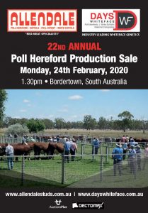 2020 Allendale Bull Sale Catalogue