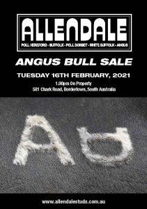 2021 Allendale Angus Sale Catalogue